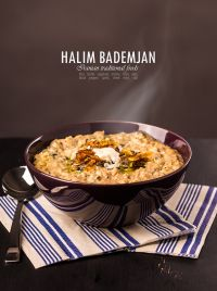 Halim Bademjan - Iranian traditional foods