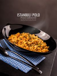 Istanbuli Polo - Iranian traditional foods